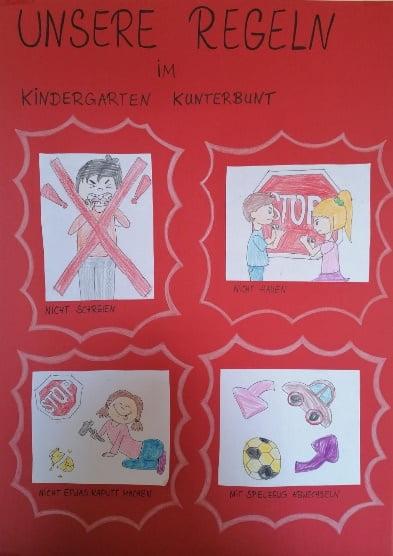 Unsere Regeln im Kindergarten
