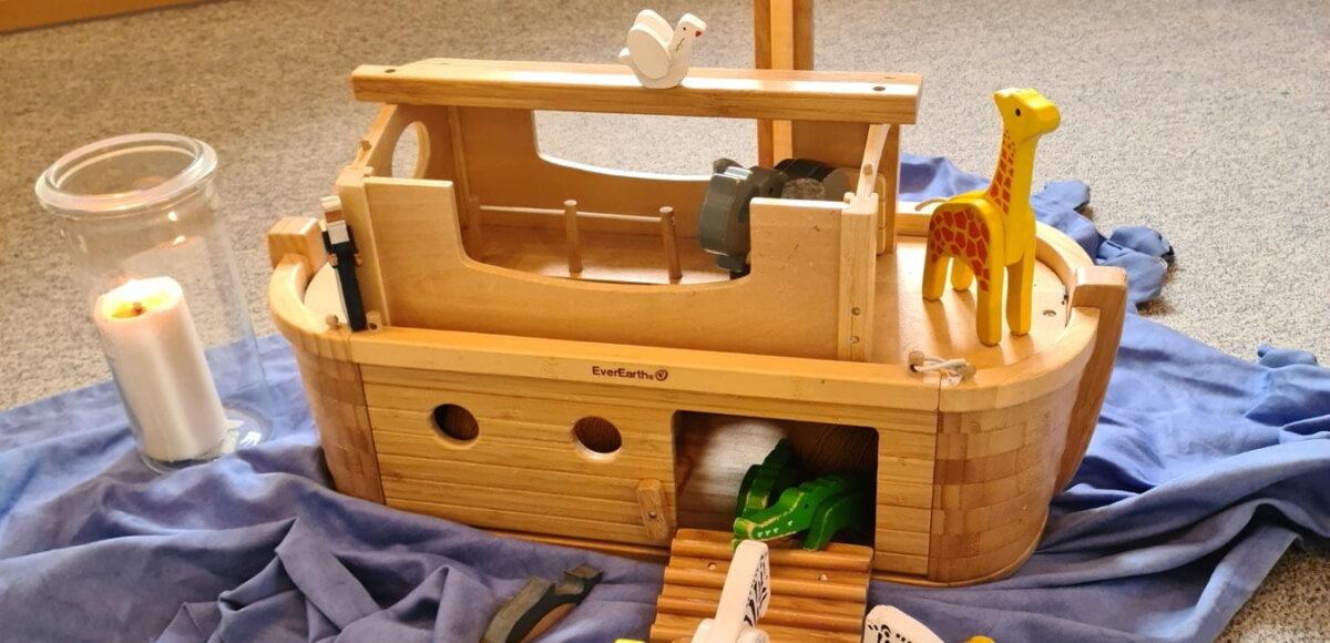Arche Noah Modell in Kita